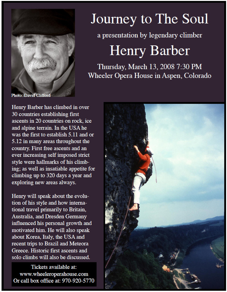 Henry Barber Mountain Ventures Consulting Public Speaking